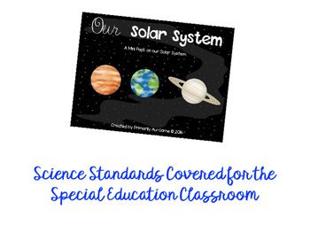 Special Education Science Bundle!  (Extended Standard Units)