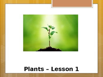 Special Education Science - Foundational Text - Plant Life Cycle