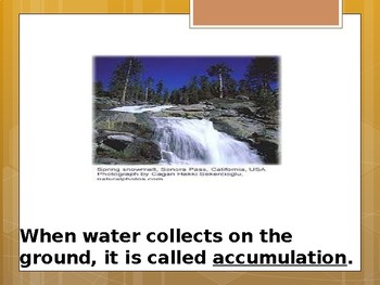 Water Cycle - Special Education Science - Foundational Text