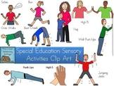 Special Education Sensory Activities Clip Art