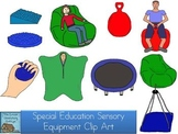 Special Education Sensory Equipment Clip Art