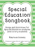 Special Education Songbook