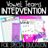 Special Education Spelling Curriculum and Intervention | V