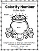 Special Education St. Patrick's Day - Color By Number - Dollar Up - Math - Money