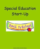Special Education Start Up