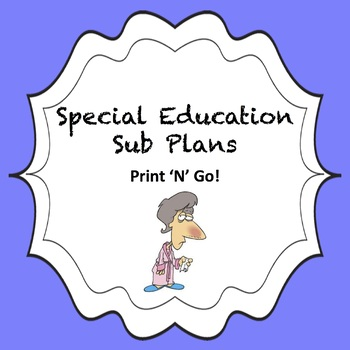 Special Education Sub Plans