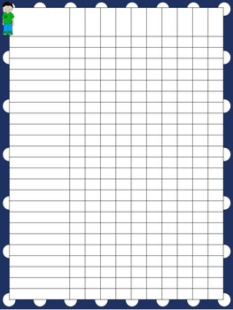 Special Education Teacher Binder - Blue and White Dot