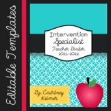Special Education Teacher Binder Editable {Templates, Data Collection & More}