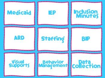 Special Education- Teacher Labels