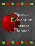 Customizable Special Education Teacher Planner