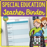Special Education Teacher Binder