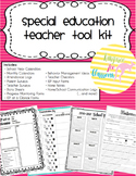 Special Education Teacher Tool Kit