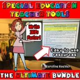 Special Education Teacher Tools: Classroom Bundle for Inclusion & Resource Room