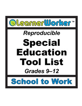 Special Education Tool List