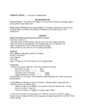 Special Education Unit of Study - Linear Measurement