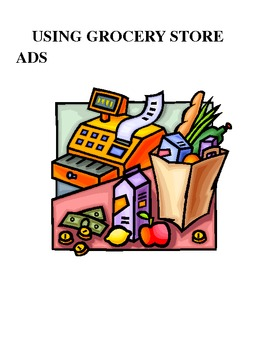 Special Education: Using Grocery Ads