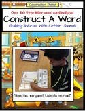 Special Education Visual Interactive Reading for Beginning Readers of CVC Words