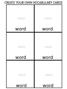 Special Education Vocabulary/Skill Assessment Booklet- Use your own vocabulary!