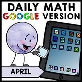 Special Education - Warm Ups - Easter - GOOGLE - Word Problems - Math - April