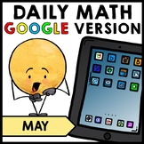 Special Education - Warm Ups - Spring - GOOGLE - Word Problem - Daily Math - May