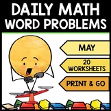 Special Education - Warm Ups - Spring - Word Problems - Daily Math - May