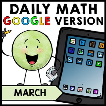 Special Education - Warm Ups - St. Patrick's Day - GOOGLE - Word Problems - Math