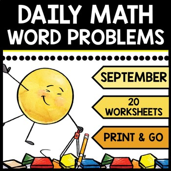 Special Education - Warm Ups - Word Problems - Daily Math - September