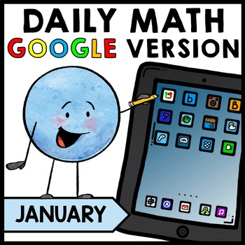 Special Education - Warm Ups - Word Problems - GOOGLE - Math - January - Winter