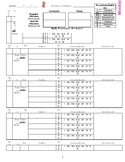 Special Education Weekly Service Logs M-F