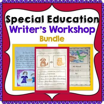 Special Education Writer's Workshop Bundle