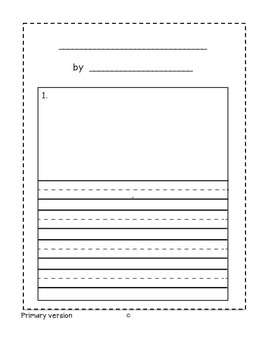 special education writing make your own graphic novel template tpt