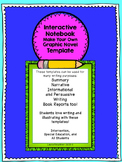 Special Education Writing: Make Your Own Graphic Novel Template