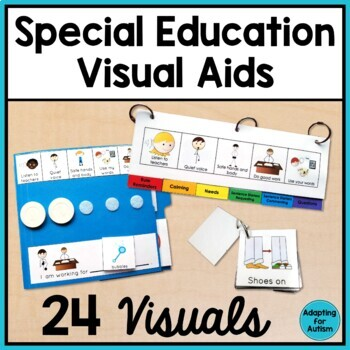 Special Education and Autism Visual Aids: Classroom Behavior Management Starter