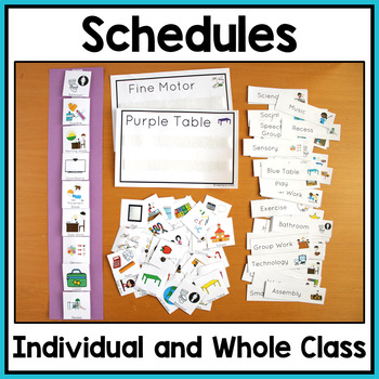 Special Education and Autism Visual Aids and Schedules: MEGA BUNDLE
