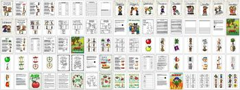 Special Education  and Early Education September Themes Bundle