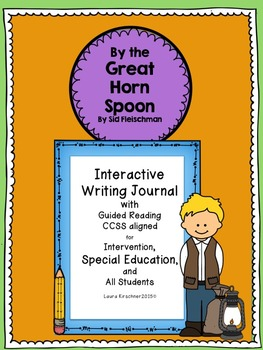 Special Education and Intervention Interactive Writing- By the Great Horn Spoon!