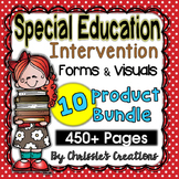 Special Education: Intervention data forms: Behavior Visuals: The Bundle