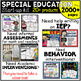 Special Education:  assessment and organization Start up k