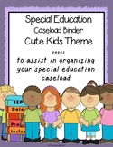 Special Education binder {Printables} with organizational forms Cute Kid Theme