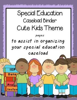 Special Education binder {Printables} ;   with organizatio