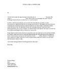 Special Education case manager introduction letter and stu