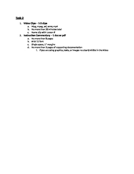 Special Education edTPA Checklist