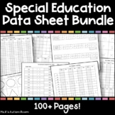 Special Education Data Sheets Bundle (DTT, Assessment, ABA, Task Analysis)