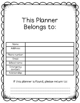 Special Educator Planner 2018-2019
