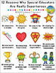 Special Educators are Superheroes Posters