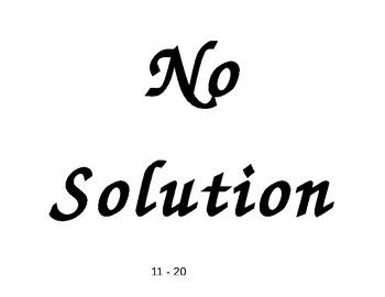 Special Equations Closing
