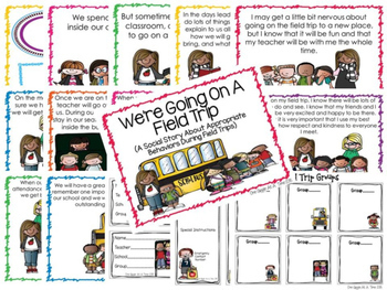 Special Event Classroom Social Story Bundle
