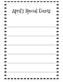 Special Events Mini-Posters