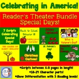 Special Holidays in America:  Reader's Theater Bundle for 4th Grade