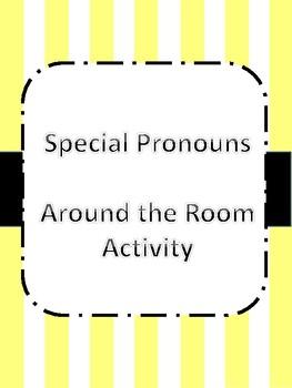 Special/Indefinite Pronouns